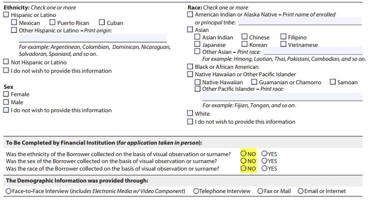 HMDA – New Demographic Information Addendum | REMN Wholesale